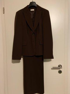 Hosen Anzug Gr. 44 braun von Nienhaus