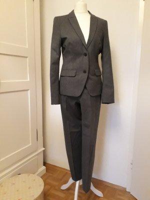 Drykorn Traje de pantalón gris oscuro tejido mezclado