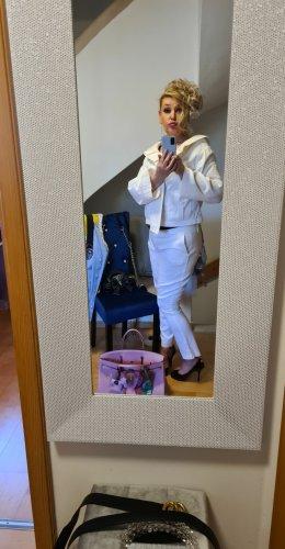 Escada Tailleur pantalone bianco