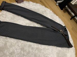 Pantalon 3/4 bleu foncé