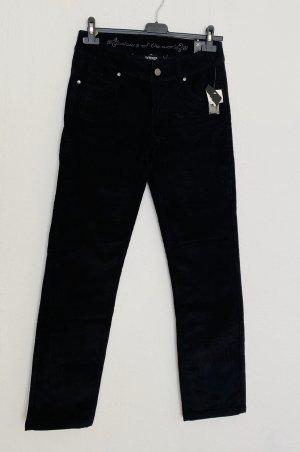 Colours of the World Pantalón de cintura alta negro