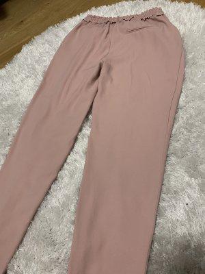 Pantalon 3/4 or rose