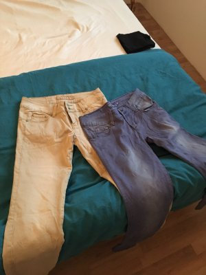 Low-Rise Trousers multicolored