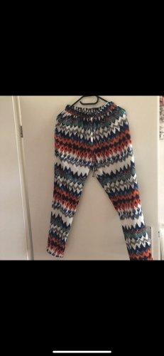 Malvin Pantalon en lin multicolore