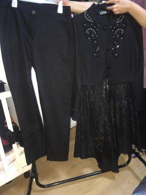 Modanisa Chemise à manches longues noir