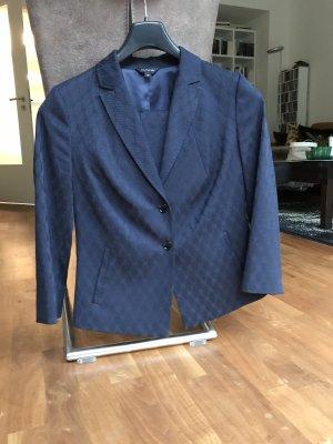 Comma Tailleur-pantalon bleu foncé