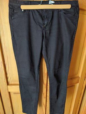 Hosen mit schwarze Beschichtung, Leder Imitation