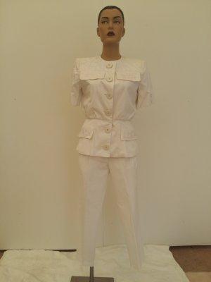C. Valentino Trouser Suit white