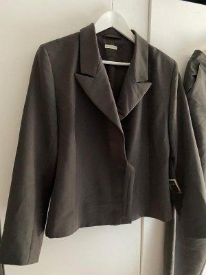 modee Garnitur biznesowy szaro-brązowy