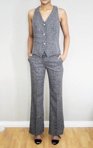 raspberry Tailleur-pantalon gris-gris foncé