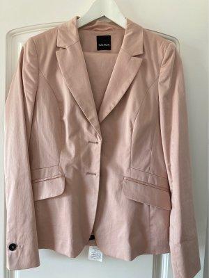 Taifun Tailleur-pantalon vieux rose coton