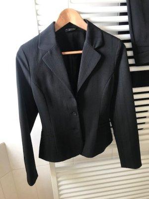 Style Trouser Suit black polyacrylic