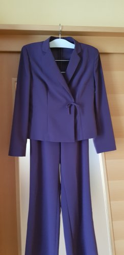 Pantalone da abito viola scuro
