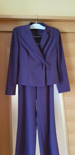 Pantalon de costume violet foncé