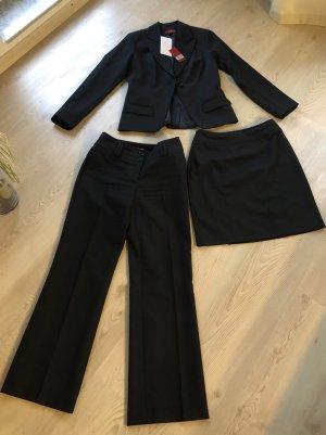 Vivien Caron Pantalone da abito nero