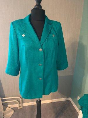 Tailleur-pantalon turquoise