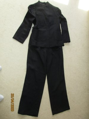 Concept UK Trouser Suit black linen