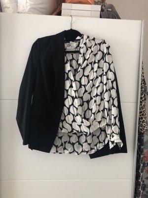 Tuzzi Blazer in jersey nero-bianco