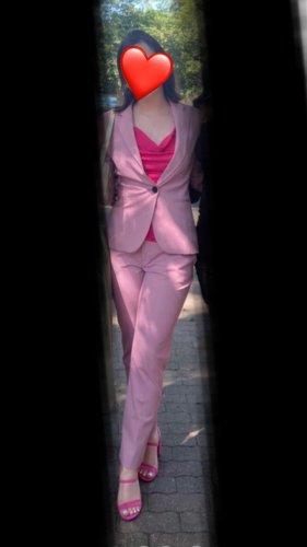 Zara Tailleur-pantalon rose
