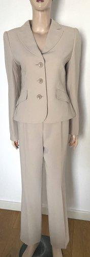 Basler Trouser Suit cream acetate