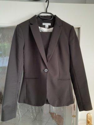 H&M Tailleur pantalone nero