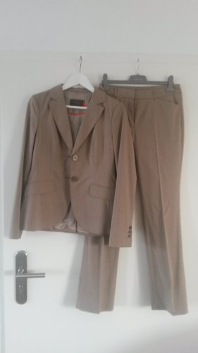s.Oliver Trouser Suit sand brown-brown