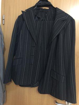 Trouser Suit black-white