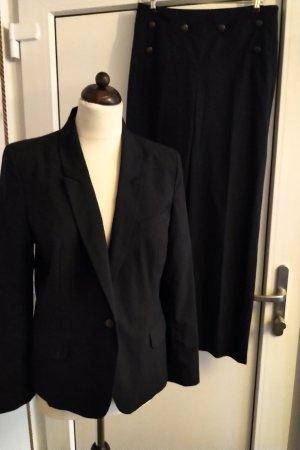1.2.3. UN DEUX TROIS Paris Trouser Suit dark blue