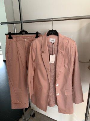 ayen Trouser Suit pink cotton