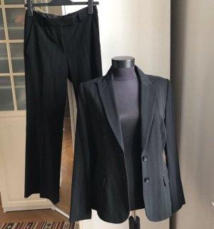 H&M Tailleur-pantalon gris anthracite