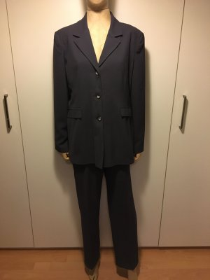Trouser Suit anthracite polyester