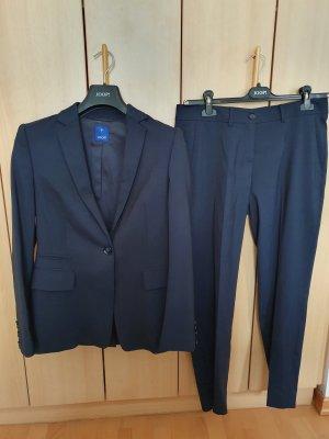 Joop! Spodnie garniturowe ciemnoniebieski