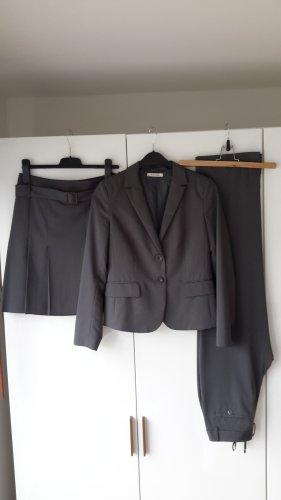 More & More Abito business grigio Viscosa