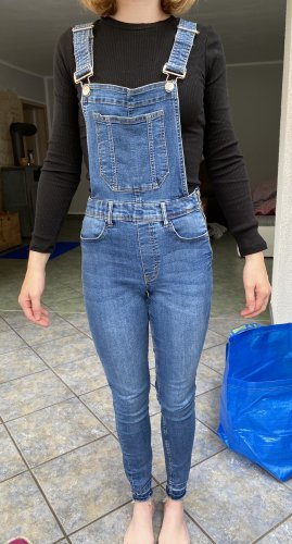 H&M Bib Denim blue