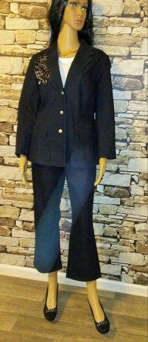 Tailleur pantalone multicolore Tessuto misto