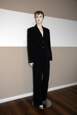 Pinstripe Suit multicolored
