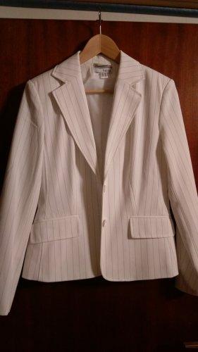 Heine Tailleur-pantalon blanc polyester
