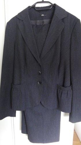 s.Oliver Traje de pantalón gris-azul oscuro