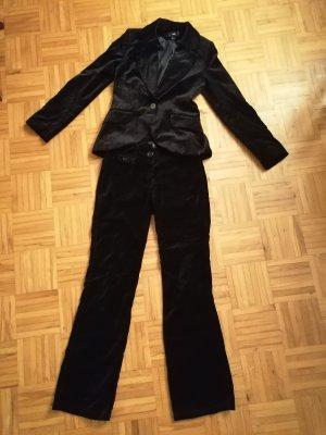 H&M Trouser Suit black