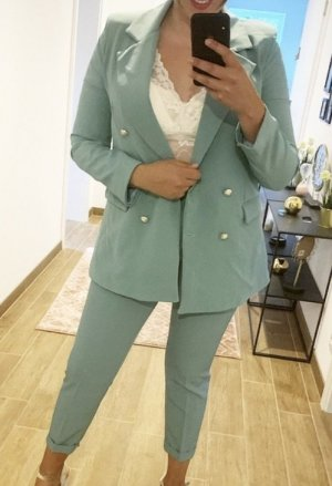 Costume business turquoise