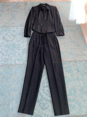 Virmani Tailleur-pantalon gris anthracite