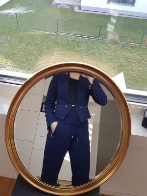 Blacky Dress Trouser Suit gold-colored-dark blue