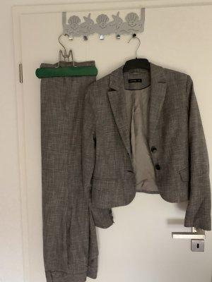Comma Trouser Suit light grey-grey