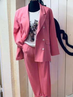Cotton Candy Trouser Suit pink