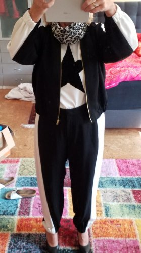 Escada Trouser Suit white-black
