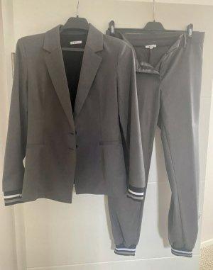 IMP Deluxe Tailleur-pantalon gris foncé