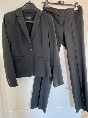 Jake*s Tailleur-pantalon noir-blanc