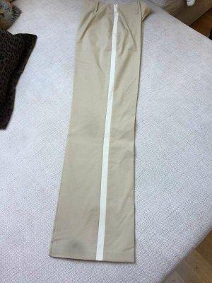 / Tailleur-pantalon beige