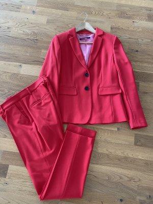 Marc Aurel Traje de pantalón rojo claro