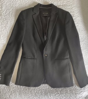Massimo Dutti Business Suit black